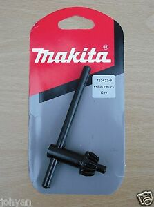 """GENUINE MAKITA 13mm 1/2"""" CHUCK KEY 6013B 6013BR 63004 6300LR 8419B DA6301 DRILLS"""
