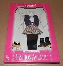Barbie Fashion Avenue Collection Real Clothes Boutique Mattel 18126 NIB 97 121W