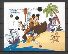 Disney Grenada Gr 1995 Mickey, Donald, Goofy, Minnie MS MNH