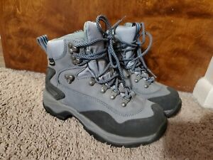 L.L. Bean Hiking Boots Lace Up Blue Womens 274547