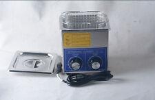 2L 80w Dental Jewelry stainless Ultrasonic Cleaner heater timer 80℃ 110v 220v