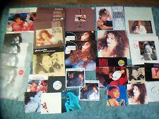 """GLORIA ESTEFAN -  JOB LOT 32  LP'S  - 12""""  - 7"""" - LYRICS -  - IMPORT PIC SLEEVES"""