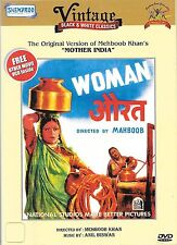 AURAT(Women) + FREE VCD MOVIE (KHUSHI) - NEW BOLLYWOOD  DVD - FREE UK POST