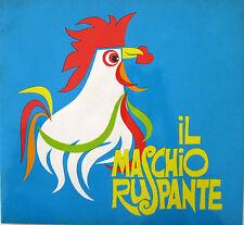 IL MASCHIO RUSPANTE brochure 1973 Giuliano Gemma Barbara Bach Marisa Merlini