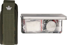 """Kizlyar Survival Kit OK0203 All items are packaged in 5 5/8"""" x 2 1/4"""" x 1"""" tin w"""