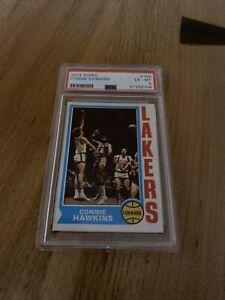 1974 Topps Basketball #104 CONNIE HAWKINS #104 Lakers HOF PSA 6