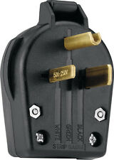 New Cooper Wiring Devices S42-SP-L Power Plug 30/50-Amp, 250-Volt, Black *