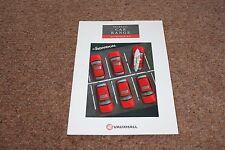 1992 FIAT FORD AUTO BROCHURE GAMMA Accessori