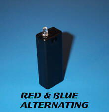 FAKE CAR ALARM LED - RED / BLUE ALTERNATING AAA BATTERY aa