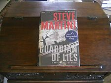 GUARDIAN OF LIES #10 by Steve Martini, SIGNED 1st ed/1st printing (2009, HCDJ)