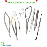 Microsurgery Set Castroviejo + Feder Noyes Schere Mikrochirurgische Werkzeug