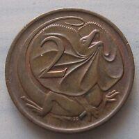 2 Centesimi Australia Elisabetta II clamidosauro.-  n. 1117