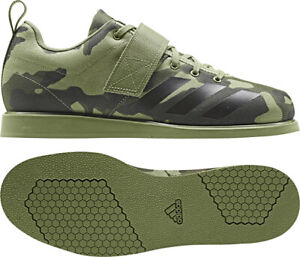 Weightlifting Shoes adidas Mens Powerlifting Trainers Powerlift 4 Olive Camo
