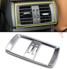 Matt Chrome Armrest box Rear AC AIR Vent Trim cover BMW X3 F25 2011-2016 X4 F26