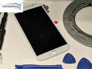For Motorola Moto G4 Plus XT1644 LCD Touch Screen Digitizer Replacement - White