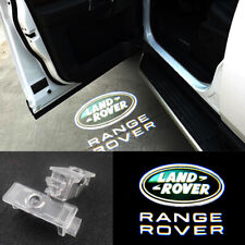 2X 3D LED Logo Door Courtesy Projector Puddle Light For Land Rover Range Rover