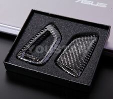 GENUINE NEW PREMIUM CARBON FIBRE KEY FOB CASE BMW F10 X5 X6 1 2 3 4 5 SERIES