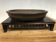 Antique Chinese Shohin Size Nakawatari Era Bonsai Tree Pot 120+ Years, 5 1/4�
