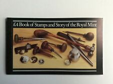 Stamps Booklet - £4 Book Of Stamps And Story Of The Royal Mail
