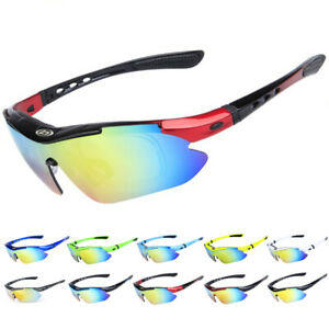 Cycling Sunglasses Outdoor Sport Riding Eyewear BMX MTB XC Road Glasses UV400