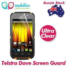 Clear Screen Protector Guard Cover Film Telstra Dave 4G T83 X2