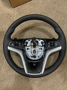 NEW 2010-2015 CHEVROLET CAMARO Steering Wheel BLACK PADDLE SHIFT MULTIFUNCTION
