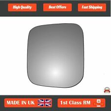 Left Passenger Side Heated Mirror Glass for Mitsubishi Pajero 1991-2000 0180LS