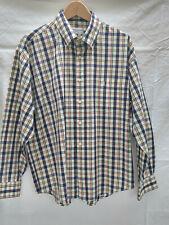 Yves Saint Laurent Pour Homme Mens Long Sleeved Shirt  *SIZE Large 17.5*