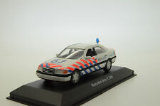 Mega RARE !! Mercedes C180 Holland Politie Police Custom Made 1/43