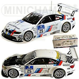 BMW M3 GT2 E92 BMW Motorsport Winner 24H Nürnburgring 2010 #25 Lamy Müller 1:18