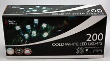 200 LED Blanca Transparente Navidad Luces Árbol de Navidad Fantasía función de acción de múltiples