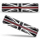 3D Gel United Kingdom UK Flag Red Line British National Union Jack GB Sticker