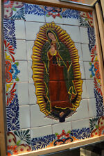 35-pieces-Mexican-Tile-Wall-Mural-with-texture