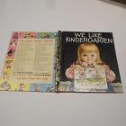 WE LIKE KINDERGARTEN #311 1965 1stSYD Little Golden Book ELOISE WILKIN C CASSIDY