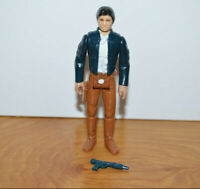 Vintage STAR WARS BESPIN HAN SOLO Action Figure 1980 Hong Kong Complete