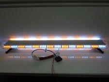 "Roof Mount 336 WATT 112 LED 60"" Inch Emergency Light Bar Amber White Tow Truck"