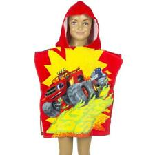 NICKELODEON poncho cape de bain à capuche BLAZE et les monster machines enfant