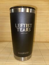 The Daily Wire Leftist Tears Hot/Cold Coffee Tumbler Ben Shapiro Candace Owens
