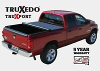 "TruXedo TruXport Soft Roll-Up Tonneau Cover Dodge Ram 1500/2500/3500 6'4"" Bed"