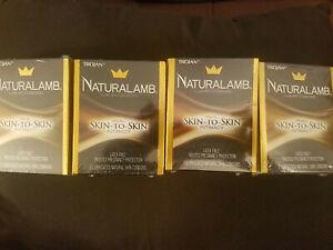 Trojan NaturaLamb 3 Lubricated Condoms  4 PACK Expires 10/2022