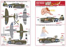 Kits-World decals 1/48 P-47D Thunderbolt Razorback Squirt II / Miss Mutt # 48141