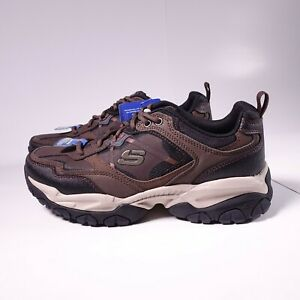 Size 7 WIDE Men's / Women's 8.5 Skechers Sparta 2.0 Sneakers 52700W/BRBK Brown