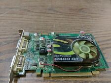 EVGA E-GEFORCE 9400GT 512MB DDR2 PCI-E X16  VIDEO GRAPHICS CARD - VGA + DVI + TV