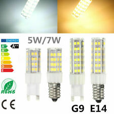 E14 G9 5W 7W LED 2835 SMD Leuchtmittel Glühbirne Licht Leuchte Strahler Dimmbar