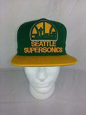 d4a09cbc4356 NBA Seattle Supersonics Mitchell and Ness Cap Hat M N Snapback LOGO NEW