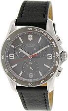 New Victorinox Swiss Army XLS Classic Grey Chronograph Men's Watch 241657