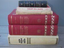 Lot 6 livres Médecine Eaux minérales Artères Tuberculose Paul Carton