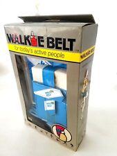 WalkMan 1986 Walkie Belt Case Pouch For Personal Radio Cassette Purse Sony Sanyo