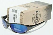 NATIVE EYEWEAR Throttle POLARIZED Sunglasses Black/Blue Reflex NEW $109