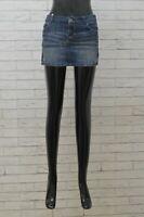 Gonna Ragazza Guess Taglia 12 anni Minigonna Skirt Kids Jeans Elastica Denim